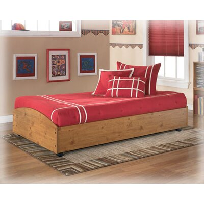 Signature Design By Ashley Elsa Twin Loft Caster Bed Frame