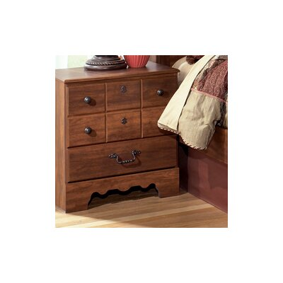 Oakridge 3 Drawer Nightstand by Signature Design by Ashley