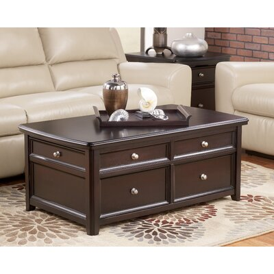 Canaan Trunk Coffee Table with Lift Top by Signature Design by Ashley