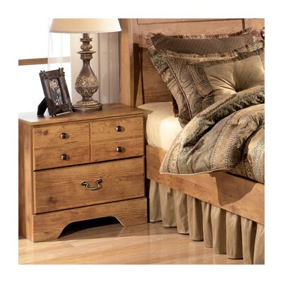 Atlee 2 Drawer Nightstand by Signature Design by Ashley