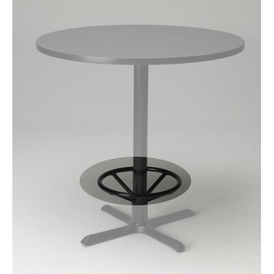 Mayline Group Bistro Bar Height Pub Table Footring