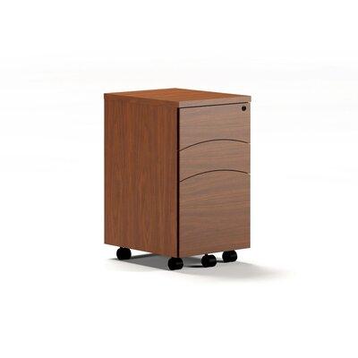 Mayline Group Brighton Series Mobile Box Box File Peddestal