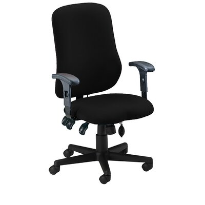 Mid-Back Fabric Contoured Support Chair by Mayline