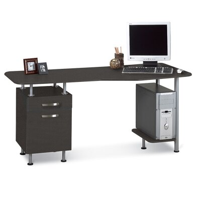 Mayline Group Computer Desk with File