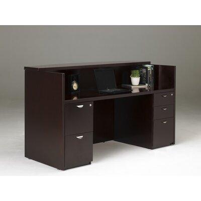 Mayline Group Mira Series Rectangular Reception Desk