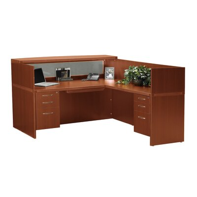 Mayline Group Aberdeen Series L-Shape Reception Desk