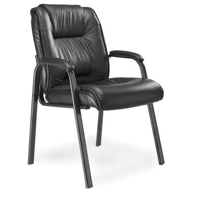 Mayline Group Series 100 High-Back Leather Guest Chair