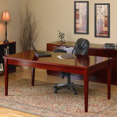 Mayline Group Luminary Series Writing Desk with 2 Shelf