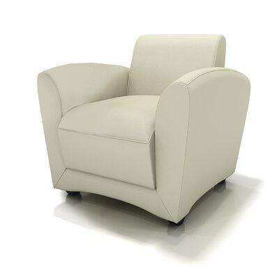 Lounge Series Leather Santa Cruz Mobile Lounge Chair by Mayline