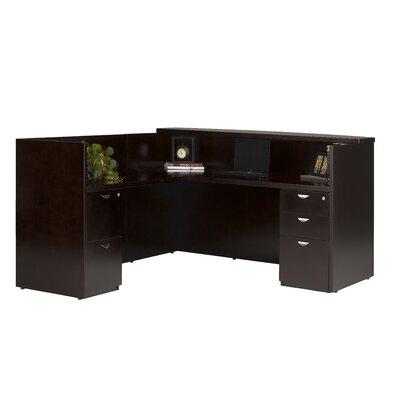 Mayline Group Mira Series L-Shape Reception Desk