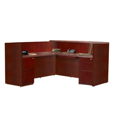 Mayline Group Luminary Series L-Shape Reception Desk