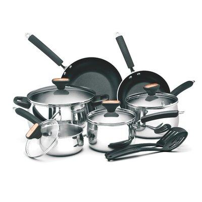 Signature Stainless Steel 12 Piece Cookware Set by Paula Deen