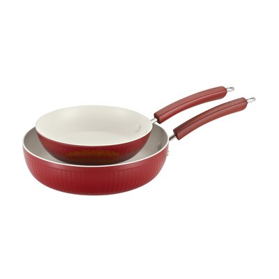 Savannah 2 Piece Non-Stick Skillet Set by Paula Deen