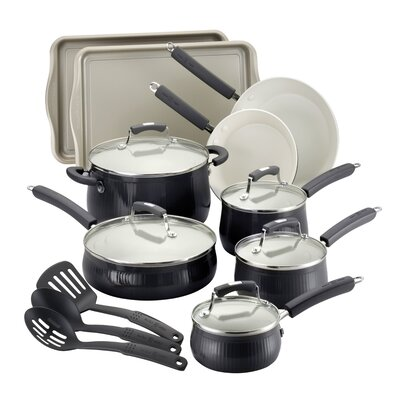 Savannah 17 Piece Cookware Set by Paula Deen
