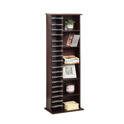 Entertainment CD Multimedia Storage Rack by 4D Concepts