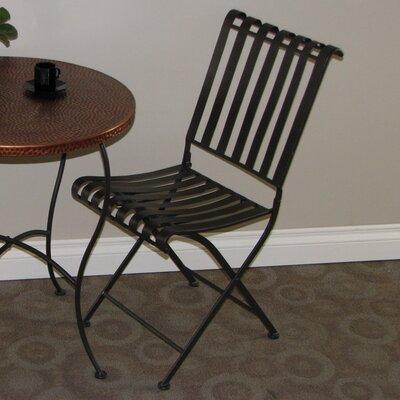 4D Concepts Metal Folding Side Chair