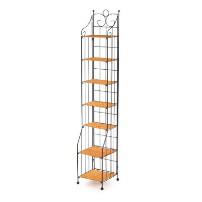 Entertainment Multimedia Stand Storage Rack by 4D Concepts