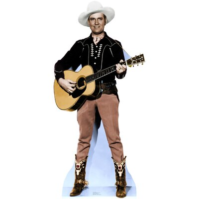 Advanced Graphics Hollywood's Wild West - Gene Autry Life-Size Cardboard Stand-Up