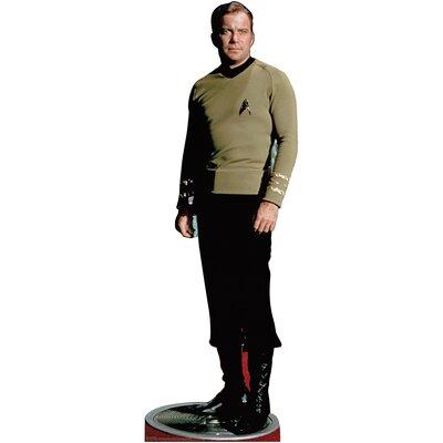 Advanced Graphics Star Trek Capt Kirk Classic Cardboard Stand-Up