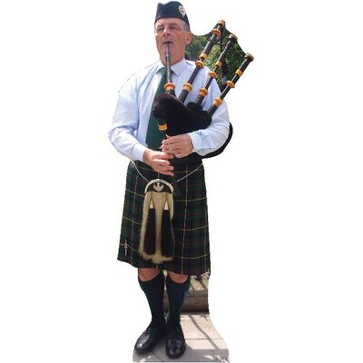 Advanced Graphics Bagpiper Cardboard Stand-Up
