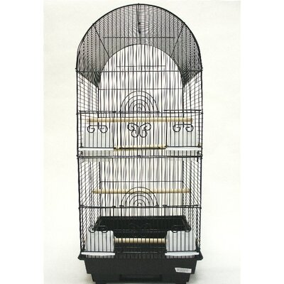 Tall Round 4 Perch Bird Cage by YML