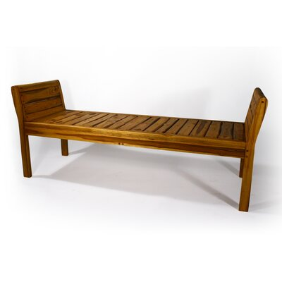 Thai Inlay Two Seat Bench by Strata Furniture