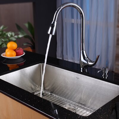 Kraus Undermount Kitchen Sink & Reviews Wayfair