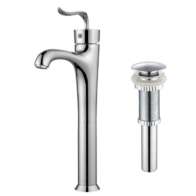 Coda™ Single Lever Vessel Bathroom Faucet with Pop-Up Drain Product Photo