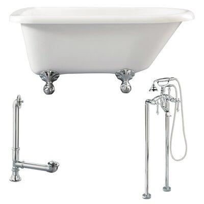Giagni Augusta Roll Top Soaking Bathtub