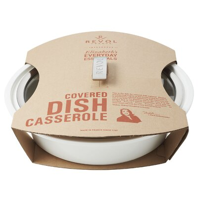 Elizabeth's Everyday Round Covered Dish Casserole with Lid by Revol