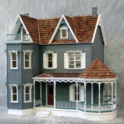 New Concept Dollhouse Kits Glenwood Dollhouse by Real Good Toys