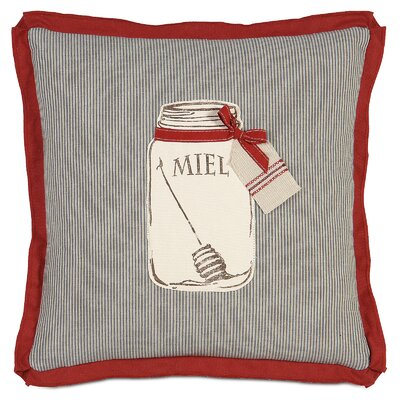 French Country Miel Throw Pillow by Eastern Accents