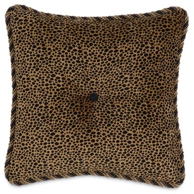 Langdon Togo Coin Tufted Throw Pillow by Eastern Accents