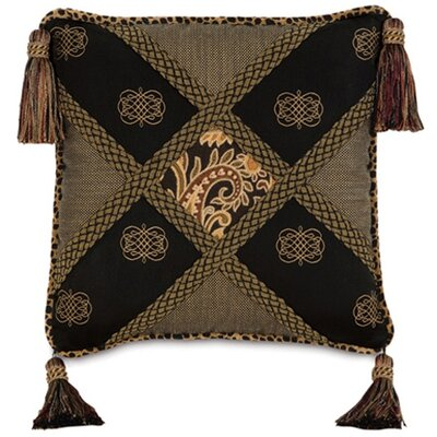 Langdon Diamond Collage Throw Pillow by Eastern Accents