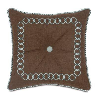 Kira Leon Tufted Throw Pillow by Eastern Accents