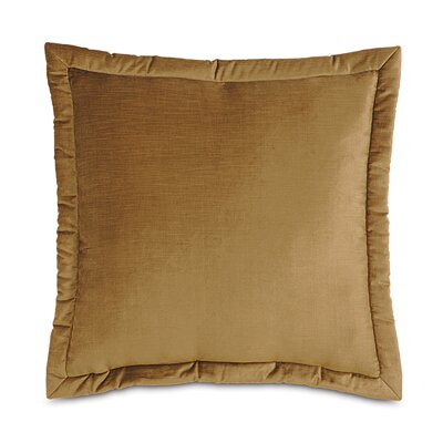 Lucerne Reuss Mitered Flange Velvet Throw Pillow by Eastern Accents