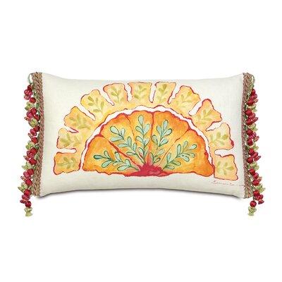 Eastern Accents Portia Hand-Painted Motif Lumbar Pillow