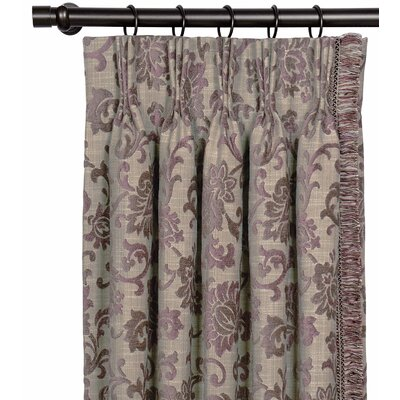 Eastern Accents Mica Three-finger Single Curtain Panel