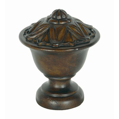 Eastern Accents Gemelina Lotus Curtain Finial