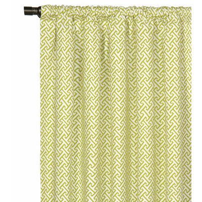 Eastern Accents Arcadia Rod Pocket Single Curtain Panel