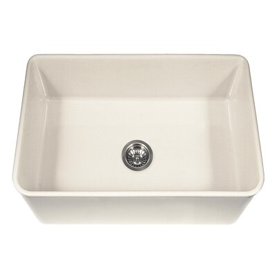"""Platus 30"""" x 20"""" Apron Front Fire Clay SIngle Kitchen Sink Product Photo"""