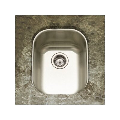 "Club 18.5"" x 15"" Undermount Large Bar Sink Product Photo"