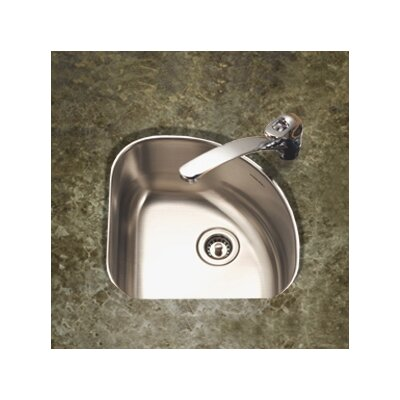"Club 14"" x 14"" Undermount Corner Bar Sink Product Photo"