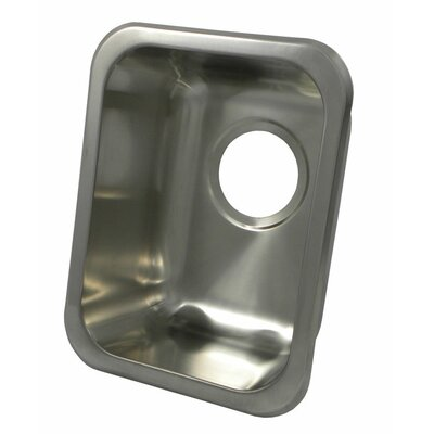 "13"" x 10"" Rectangular Bar Sink Product Photo"