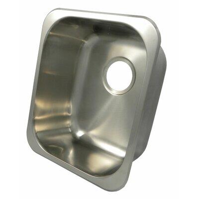 "17"" x 15"" Rectangular Bar Sink Product Photo"
