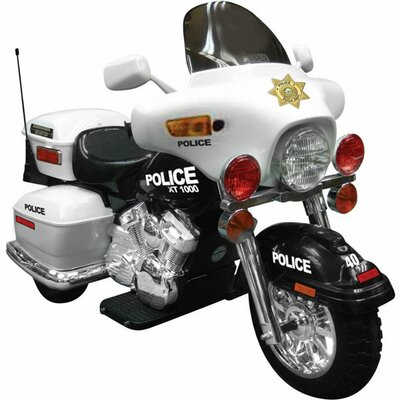 Big Toys NPL Patrol 12V Battery Powered Police Motorcycle