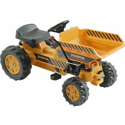 Kalee Pedal Tractor with Dump Bucket by Big Toys
