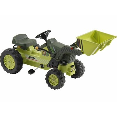 Kalee Pedal Tractor with Loader by Big Toys