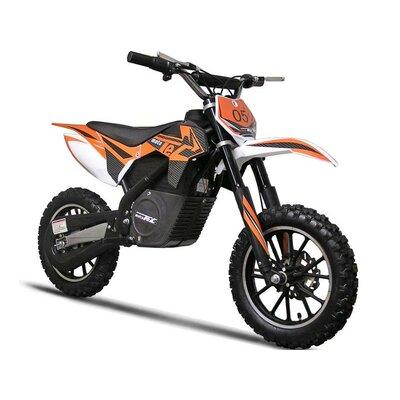 Big Toys Boy's MotoTec 24 Voltage Electric Dirt Bike Dirt 500