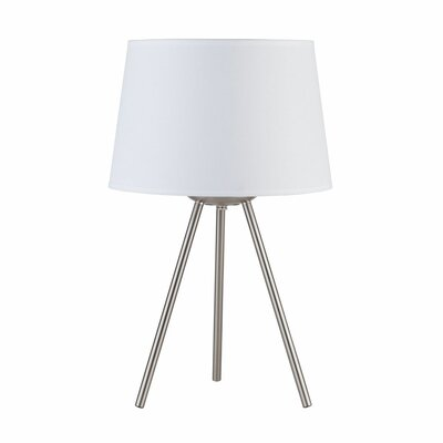 """Lights Up! Weegee Small 20"""" H Table Lamp with Empire Shade"""